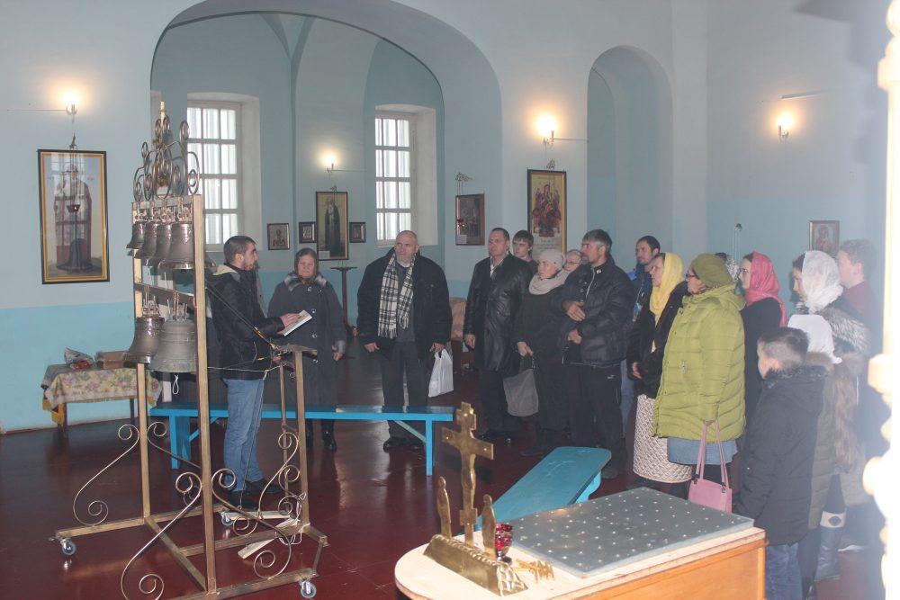 В селе Симбухово продолжает работу епархиальная «Школа колокольного звона»