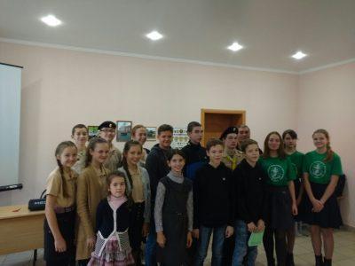 При Никольском храме в Терновке начал работать патруль следопытов