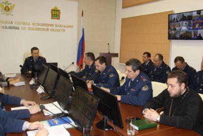 Священник принял участие в обсуждении вопросов отбывания наказаний осужденных инвалидов