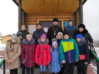 Воспитанники воскресной школы села Блиновка совершили паломничество