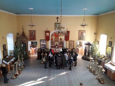 Воспитанники воскресной школы села Мичурино посетили Никольский храм в Терновке