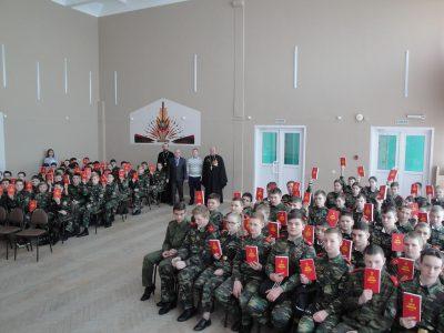 В Пензе прошла встреча с кадетами по проекту «Патриотизм и духовность»