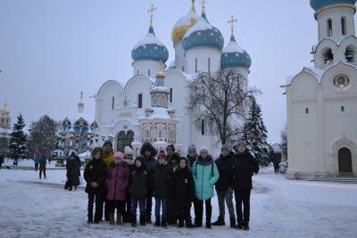 Паломническая поездка воспитанников воскресной школы Троицкого храма села Константиновка в Москву