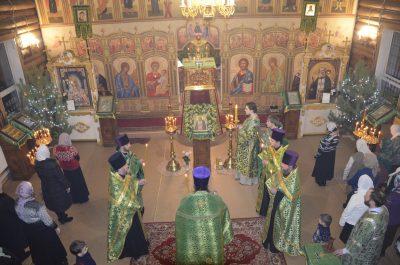 Престольный праздник в храме Серафима Саровского города Пензы