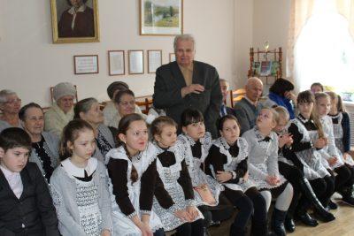 Священнослужитель встретился с участниками областного проекта «Дети войны»