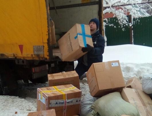 В Сергиевской церкви села Головинщино прошла благотворительная акция по раздаче вещей нуждающимся