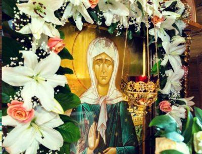 Приход храма блаженной Матроны Московской приглашает верующих окунуться в купель на Крещение