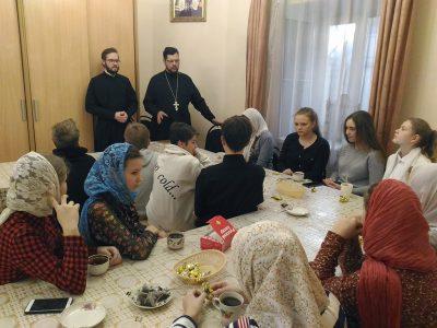 Состоялось собрание молодежного актива Никольского храма в Терновке