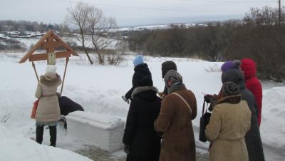Пензенские паломники поклонились святым мощам блаженного Иоанна Поташева, старца Кочетовского