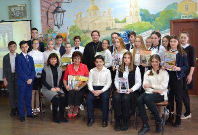 В городской библиотеке № 2 прошел интеллектуальный турнир «Азы православной веры»