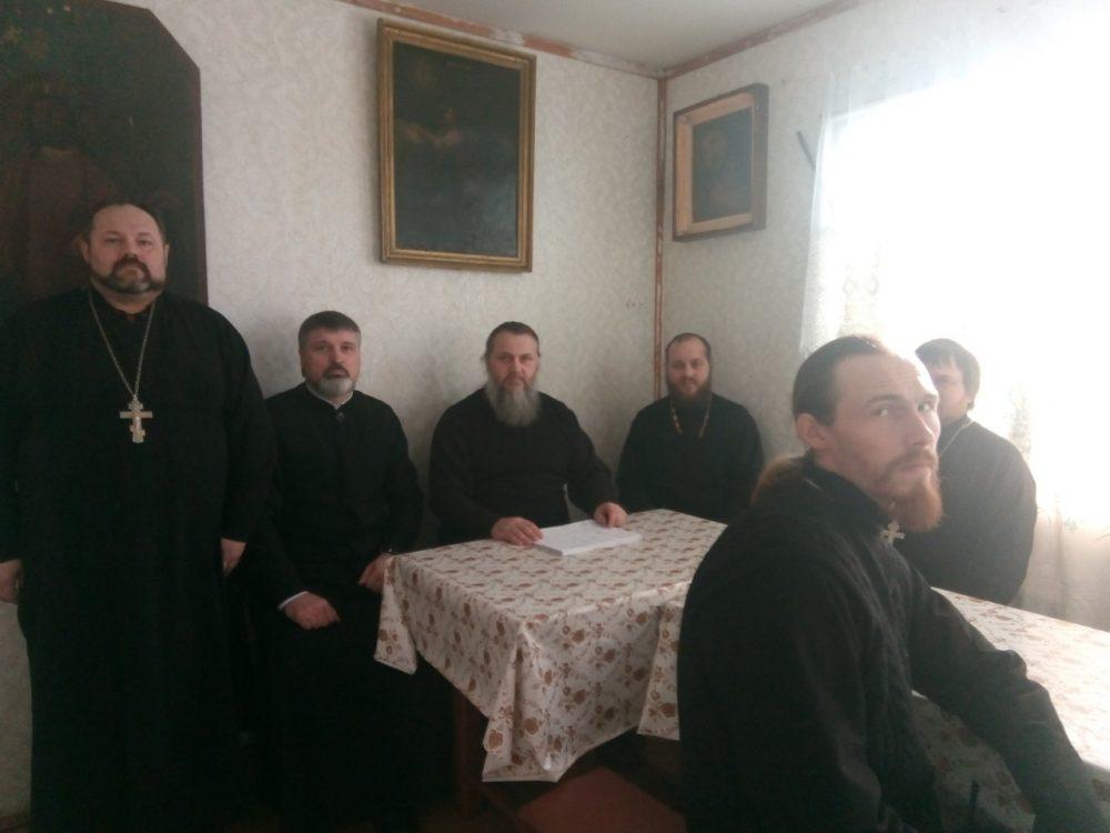 В Городищенском благочинническом округе состоялось рабочее собрание духовенства