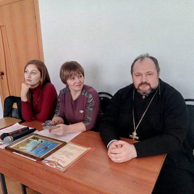 Священник принял участие в работе военно-патриотического марафона