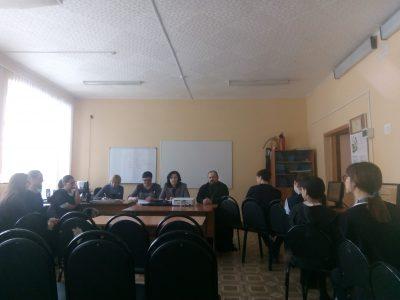 В Городищенском благочинии прошла встреча с учащимися