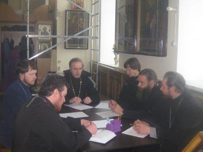 Состоялось собрание духовенства Мокшанского районного благочиния