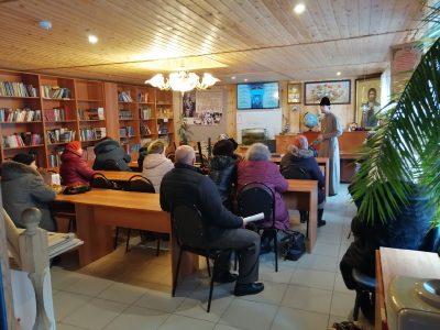 Жителям села Бессоновка рассказали о празднике Сретения Господня