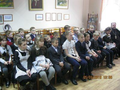 Священник принял участие в празднике в краеведческом музее города Городище