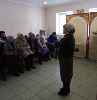 В Никольском храме в Терновке прошел лекторий, посвященный памяти М. М. Киселевой