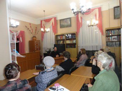 В Пензе состоялось очередное заседание православного лектория