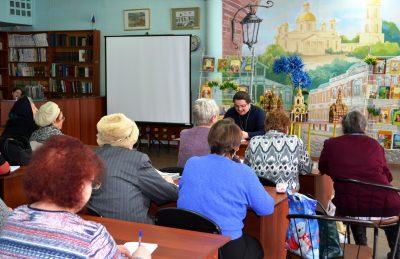 В городской библиотеке № 2 прошел православный лекторий