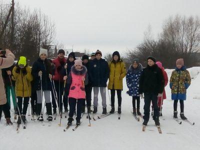 В Городищенском благочинии прошли спортивные состязания по биатлону