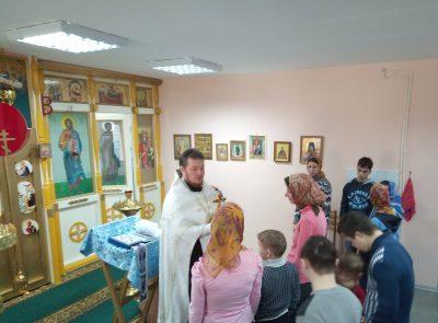 Священник Александр Черных совершил Таинство Соборования в Мокшанском психоневрологическом интернате