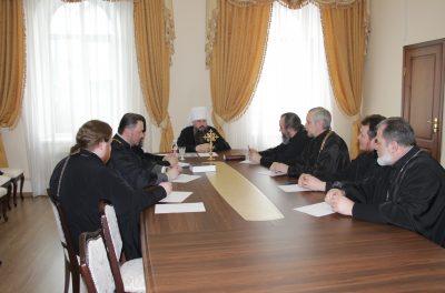 В Пензе прошло заседание епархиального совета