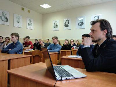 Преподаватели и студенты Пензенской духовной семинарии встретились с сотрудниками и студентами ПГУАС