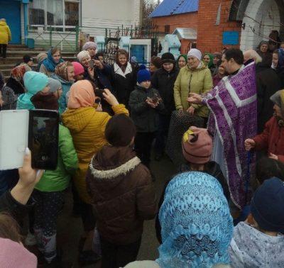 В детской воскресной школе Покровского храма города Городище отметили Благовещение