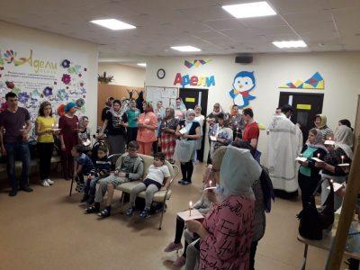"""Священнослужитель посетил физкультурно-оздоровительный центр для людей с ограниченными возможностями """"Адели-Пенза"""""""