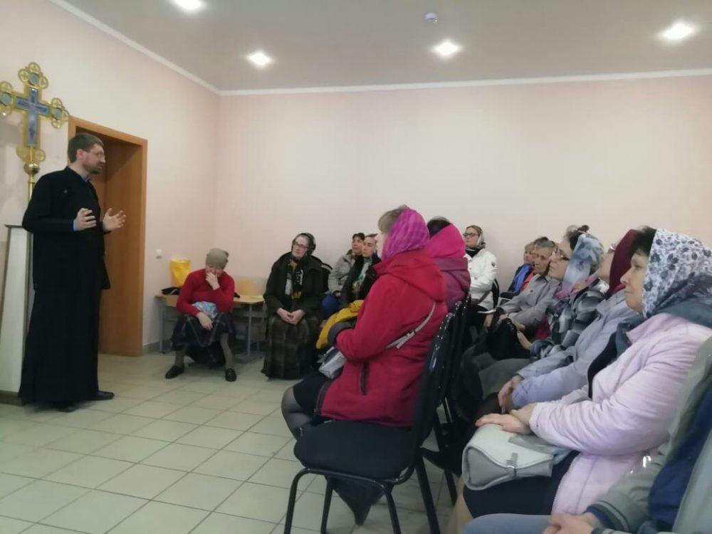 В Никольском храме Пензы прошла лекция, посвященная Палестинскому обществу