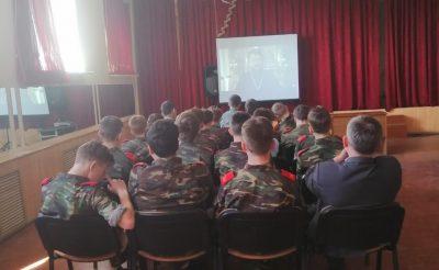 Бессоновским кадетам рассказали о празднике Светлой Пасхи