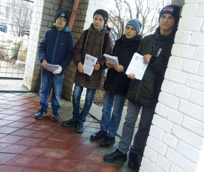 Представители православной молодежи рассказали городищенцам о празднике Благовещения