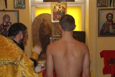 Священник Михаил Земцов совершил Таинство Крещения в СИЗО №1