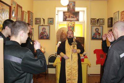 Священнослужитель посетил осужденных, содержащихся в СИЗО №1