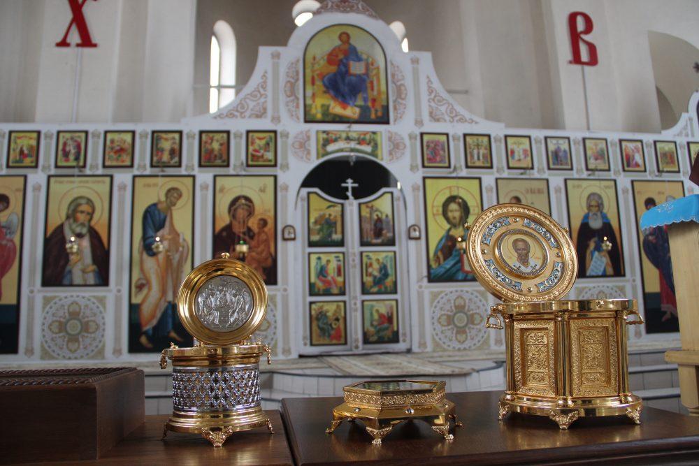 Расписание пребывания мощей трех святых и частицы Животворящего Креста Господня в храмах Пензенской епархии