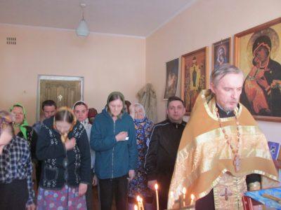 Протоиерей Михаил Дергунов совершил Соборование опекаемых в Мокшанском психоневрологическом интернате