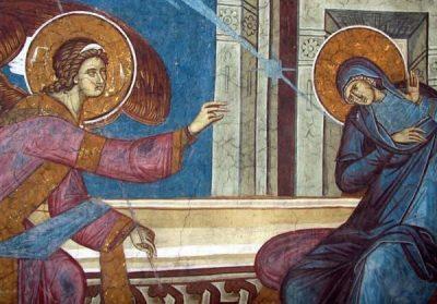 7 апреля – Благовещение Пресвятой Владычицы нашей Богородицы и Приснодевы Марии