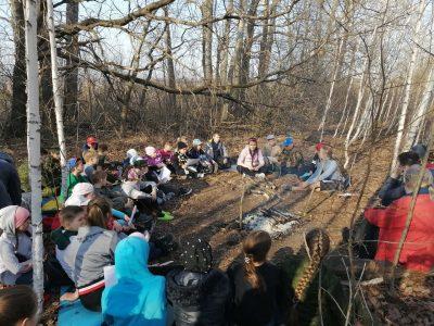 Воспитанники православной гимназии приняли участие в походе «Весенний призыв»