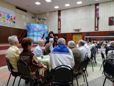 Представители просветительского центра при Покровском соборе поздравили общественное объединение «Дети Войны» с Днем Победы