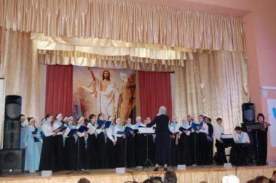 В селе Бессоновка состоялся праздничный концерт Детско-юношеской хоровой школы «Преображение»