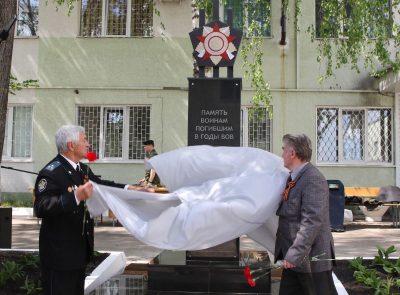Протоиерей Антоний Шварев совершил молебен на открытии памятника сотрудникам УФСИН, погибшим на фронтах войны