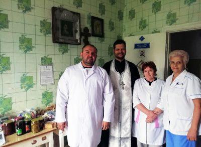 Священнослужитель посетил Дом ночного пребывания