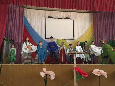 Состоялся пасхальный фестиваль воскресных школ Каменского благочиния