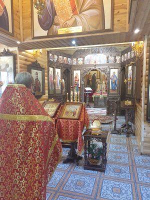Молебен перед началом сдачи экзаменов совершили в храме в честь св. вмч. Георгия Победоносца села Бессоновка