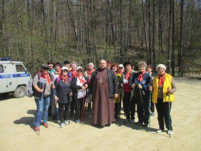 В Городищенском благочинии состоялся фестиваль скандинавской ходьбы