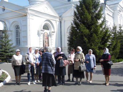 Пензенские паломники посетили Параскево-Вознесенский женский монастырь в мордовском селе Пайгарма