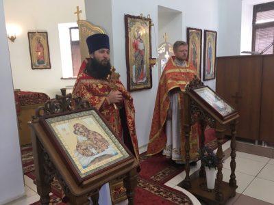 В храме благоверного князя Александра Невского г. Каменки представлен новый настоятель