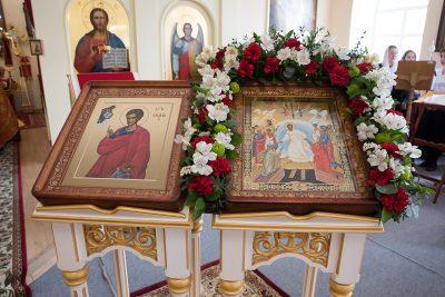 В канун Антипасхи митрополит Серафим совершил всенощное бдение в Воскресенском храме при епархиальном управлении