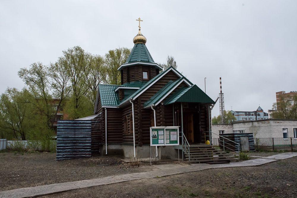 В четверг Светлой седмицы митрополит Серафим совершил Литургию в храме блаженной Матроны Московской города Пензы
