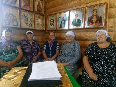 В Дигилевке начала работу воскресная школа для взрослых